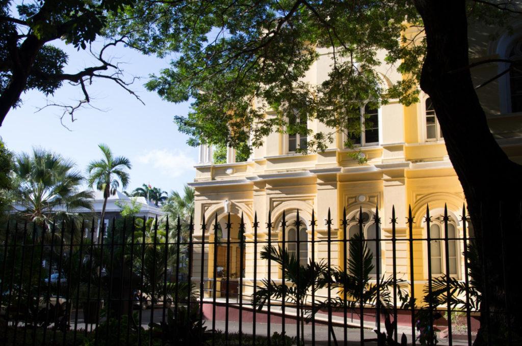 Stadtvilla in Port Louis, Mauritius.