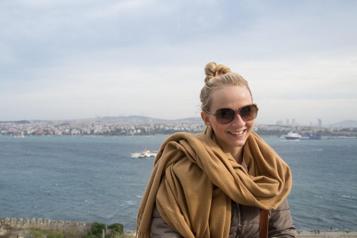 Goldenes Horn in Istanbul, Türkei