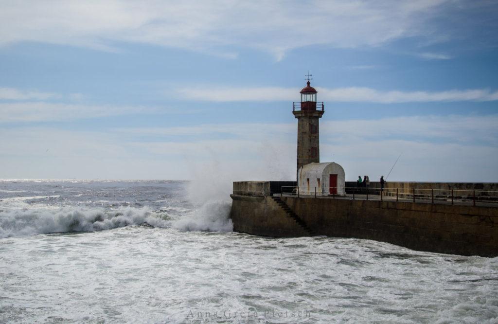 Meer_Porto_Foz_do_Douro_Leuchtturm