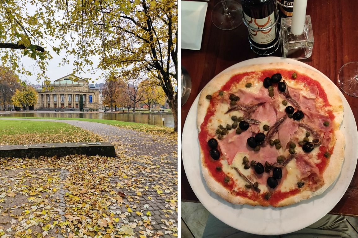 glutenfreie Pizza im Senzanome, Stuttgart