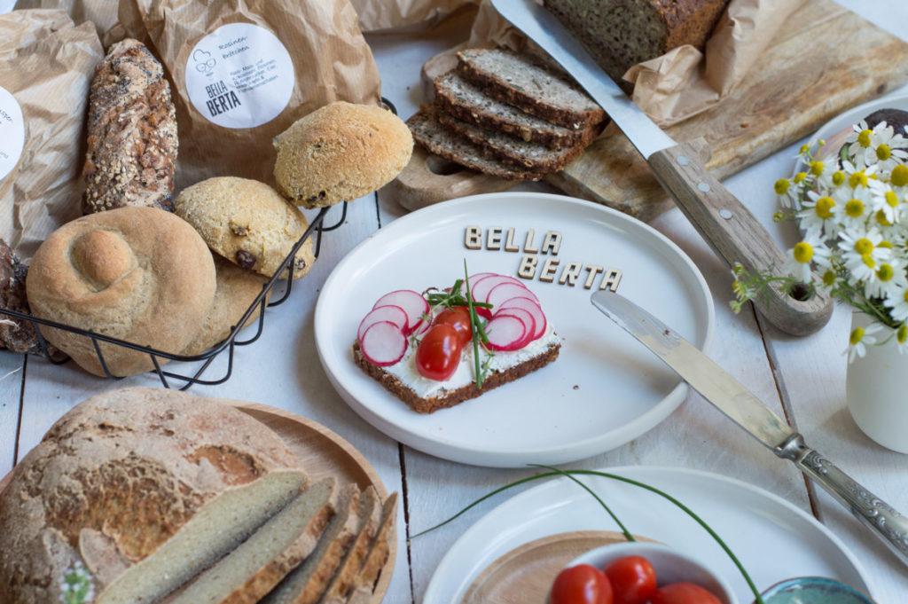 Das glutenfreie Sortiment von Bella Berta
