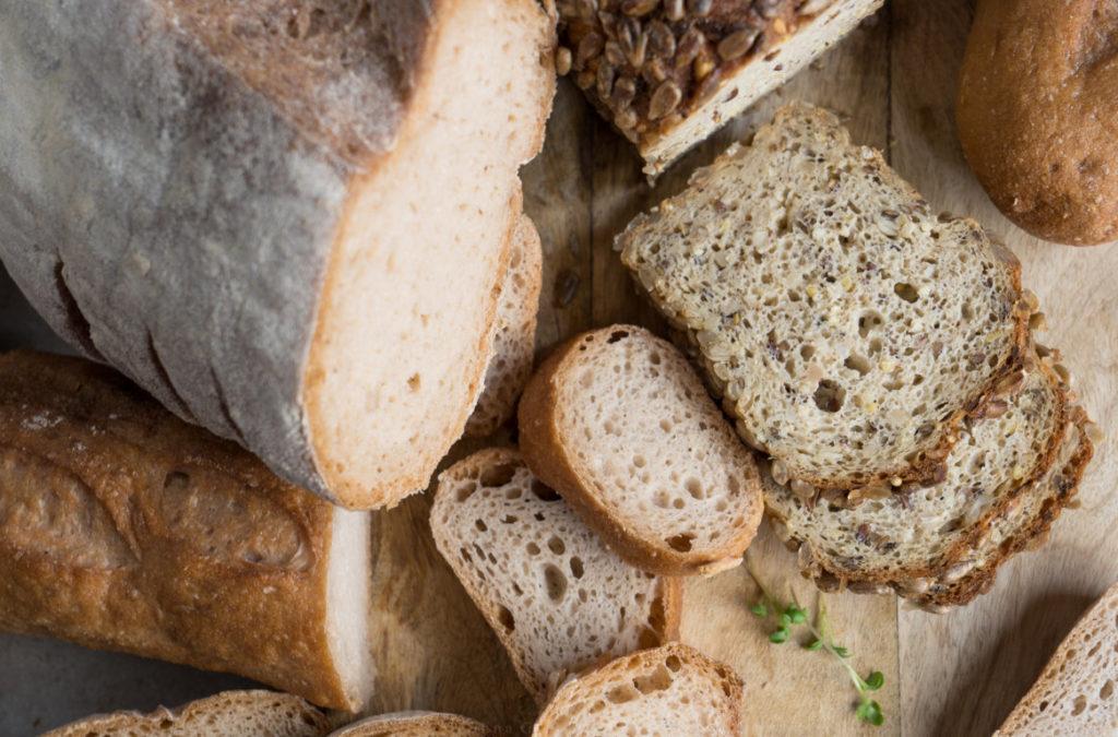 Die Porung des Brotes ist unschlagbar!