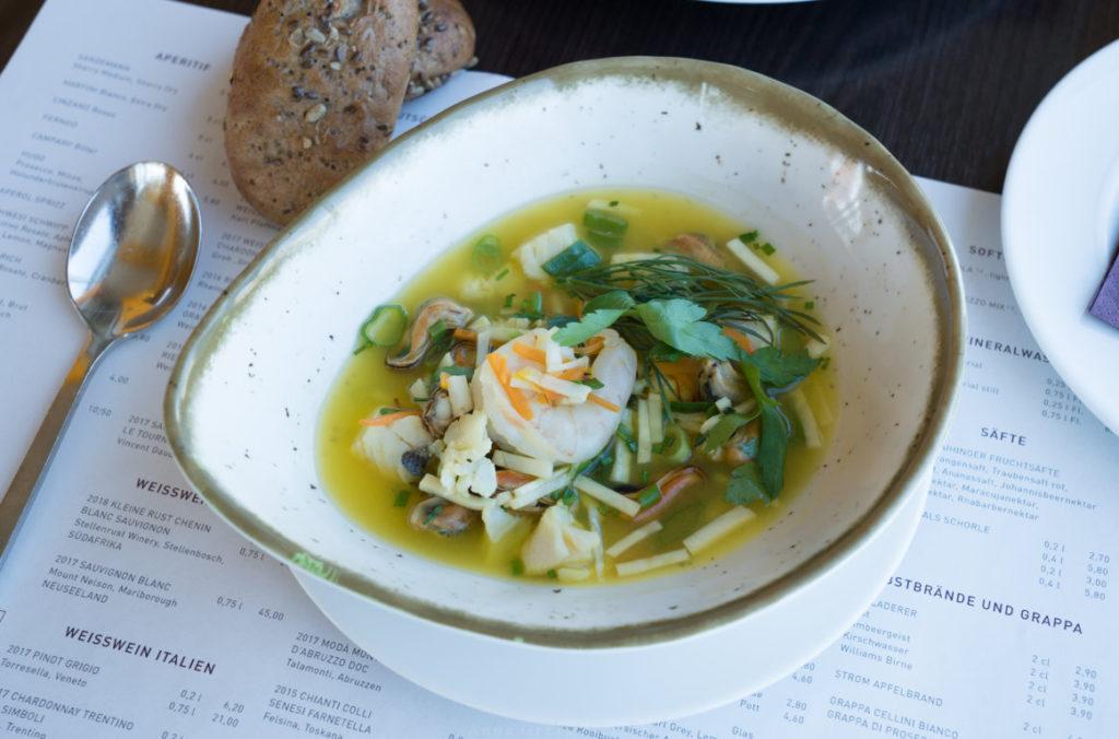 Fischsuppe Restaurant STROM, Bremerhaven