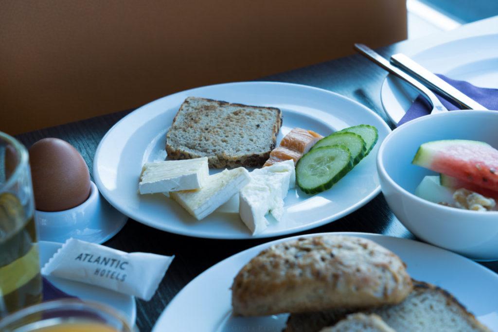Glutenfreies Frühstück im Atlantic Hotel Sail City, Bremerhaven