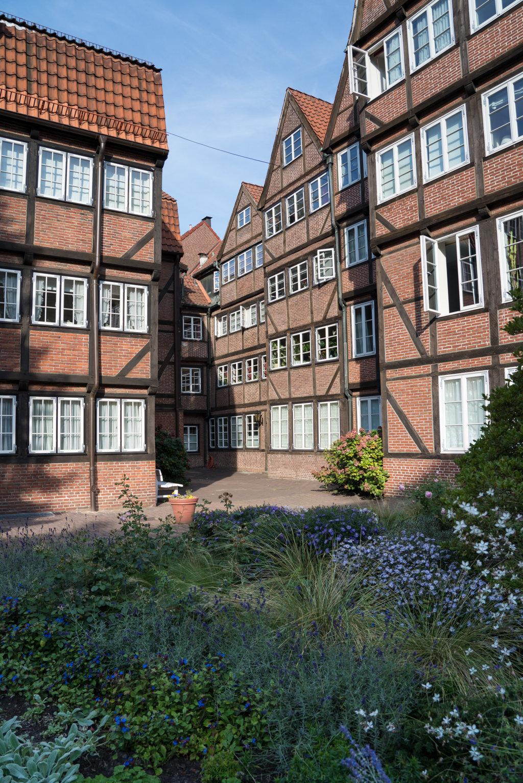 Der Innenhof erinnert mich an die Hofjes in Amsterdam.