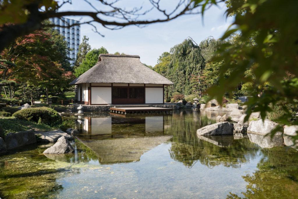 Das japanische Teehaus, Hamburg