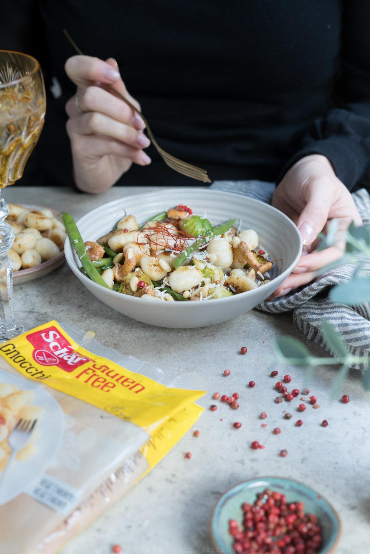 herbstliche Gnocchi-Gemüsepfanne