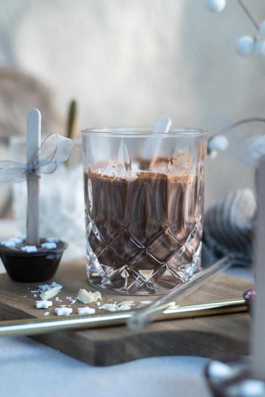 Heiße Schokolade selbst gemacht