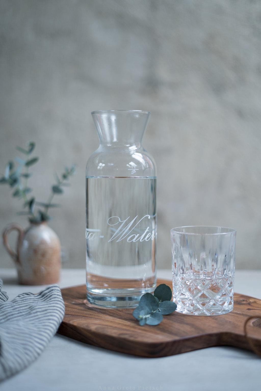 Leitungswasser ist eine super Alternative zu Wasser in Flaschen