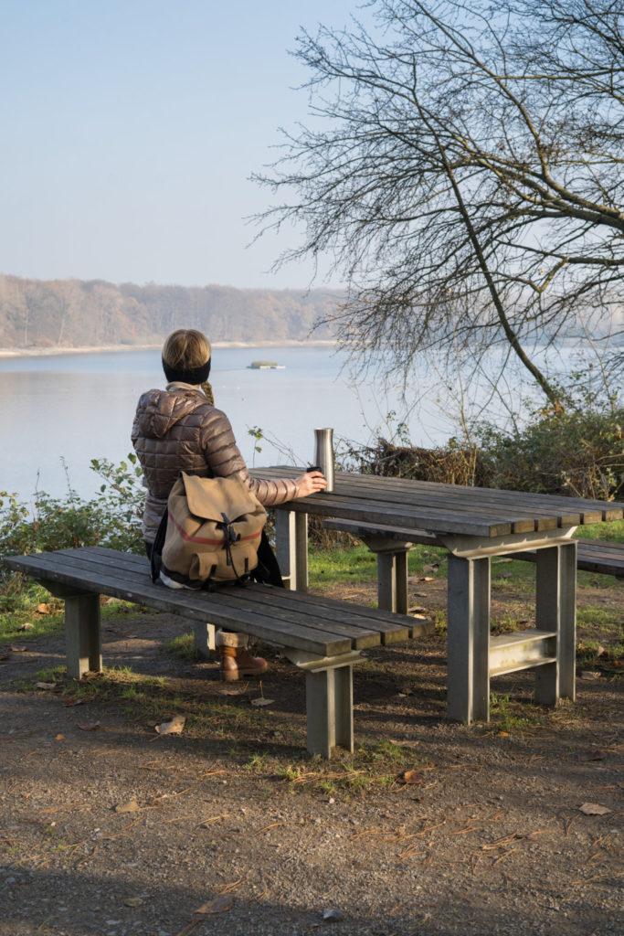 Picknickstelle am Hullerner Stausee