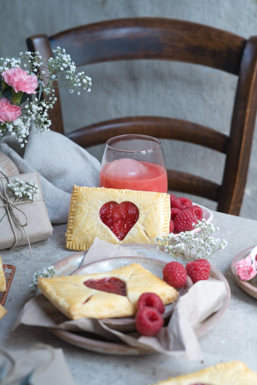 Kekse in Form eines Liebesbriefs - glutenfrei natürlich!