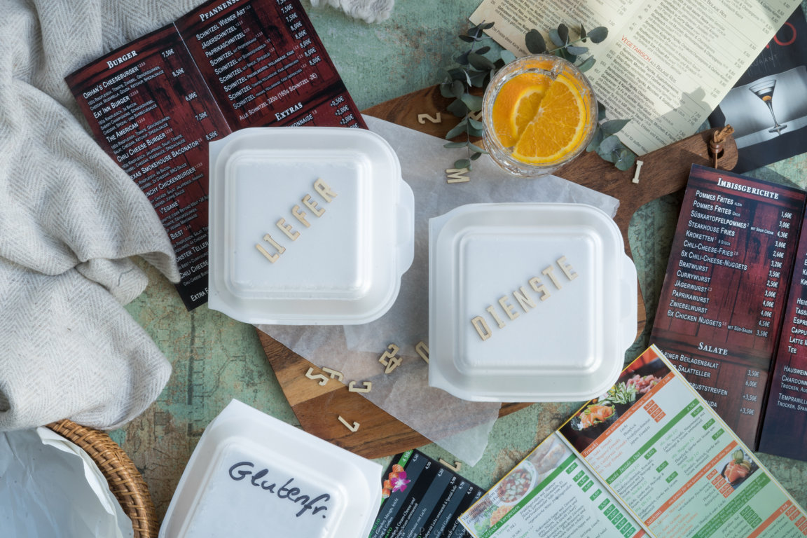 Lieferdienste - kann ich auch mit Zöliakie Essen bestellen?