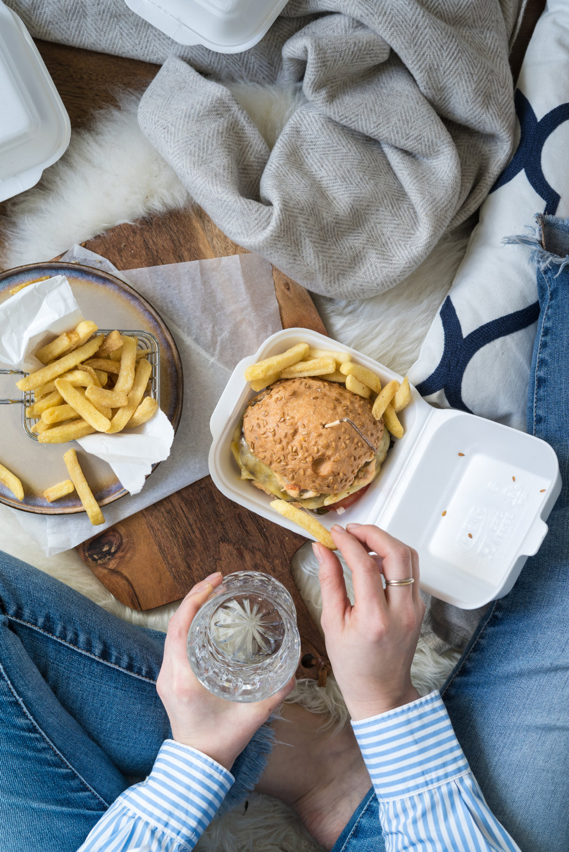 glutenfreier Burger von EatInn Recklinghausen