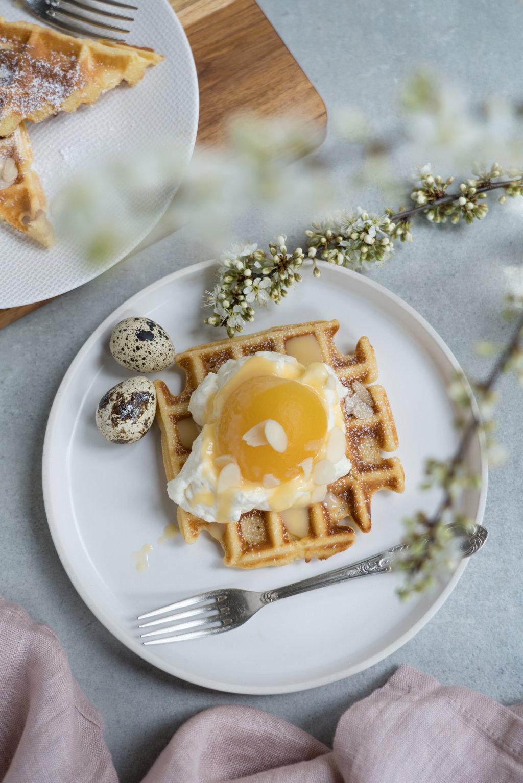 Eierlikörwaffeln - perfekt zu Ostern!