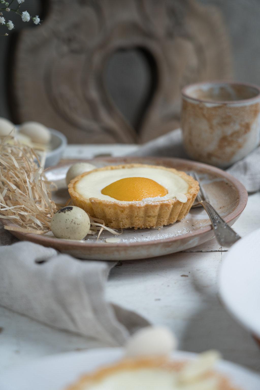 glutenfreies Schmand-Tartelette