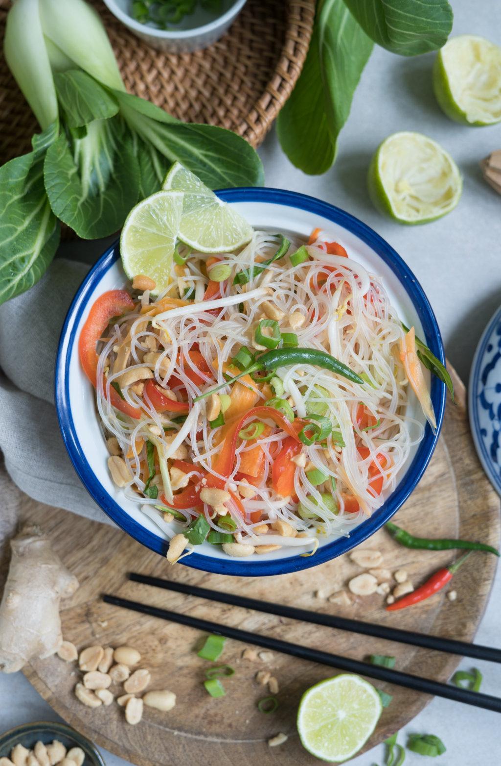 Yum Woon Sen - thailändischer Glasnudelsalat