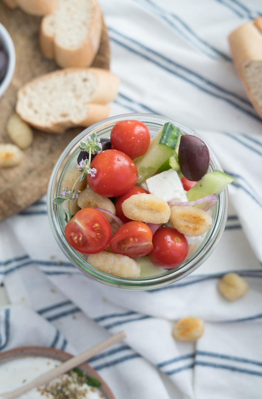 Gnocchi-Salat - super einfach, aber so lecker!