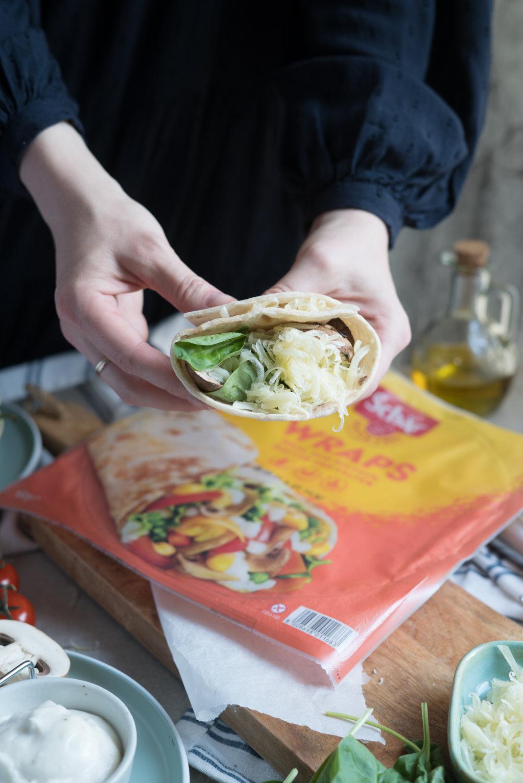 Quesadilla für den Grill