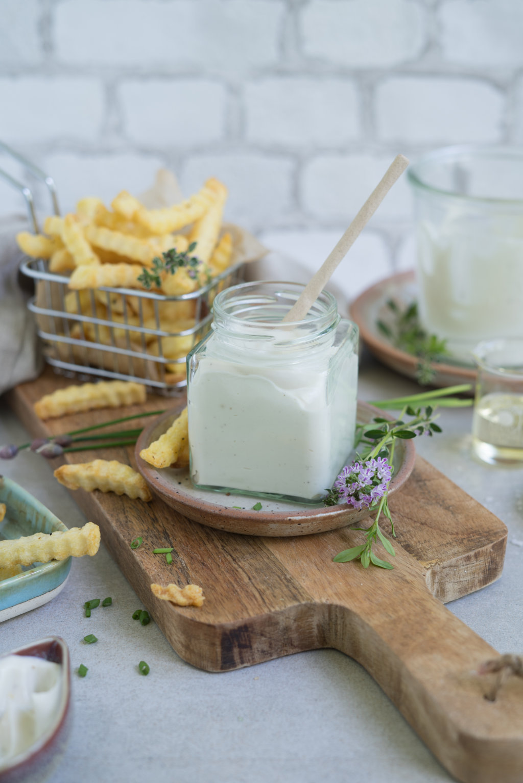 vegane & glutenfreie Mayonnaise