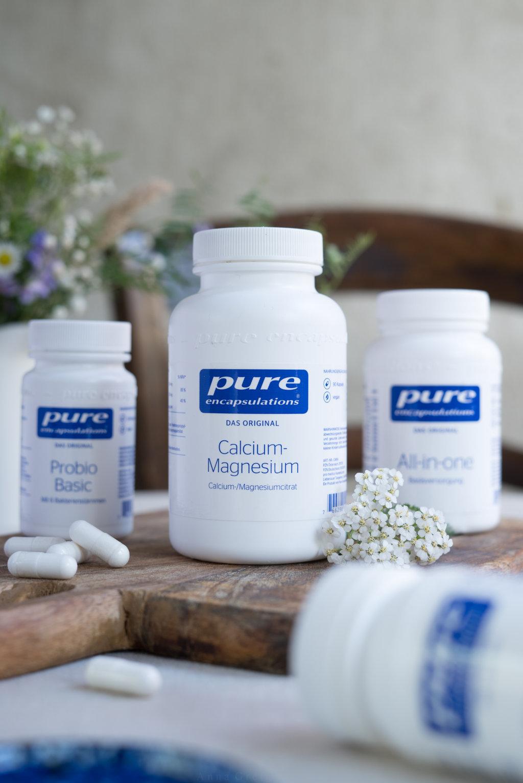 Pure Encapsulations Calcium-Magnesium, Nährstoffe