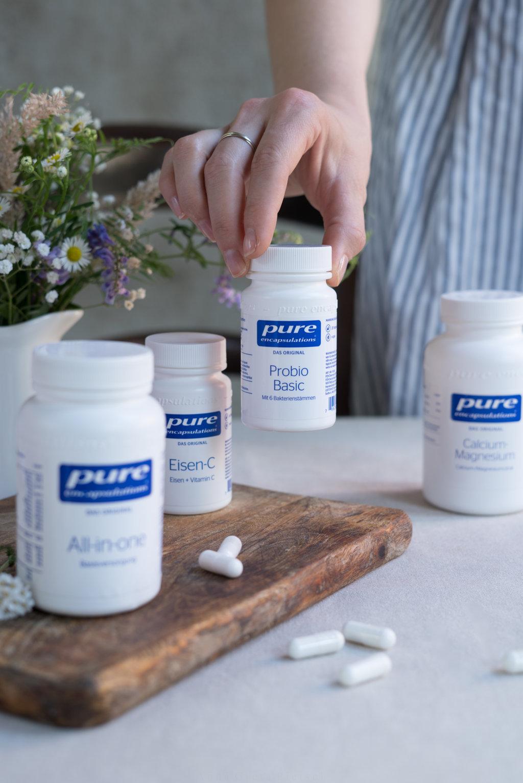 Pro Biotic Nahrungsergänzungsmittel - Nährstoffe