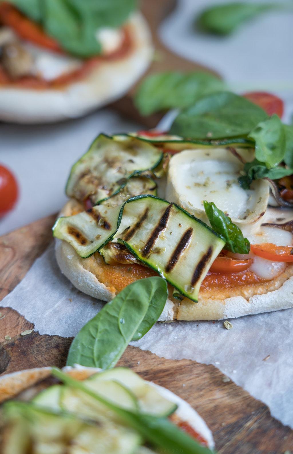 glutenfreie Mini-Pizza