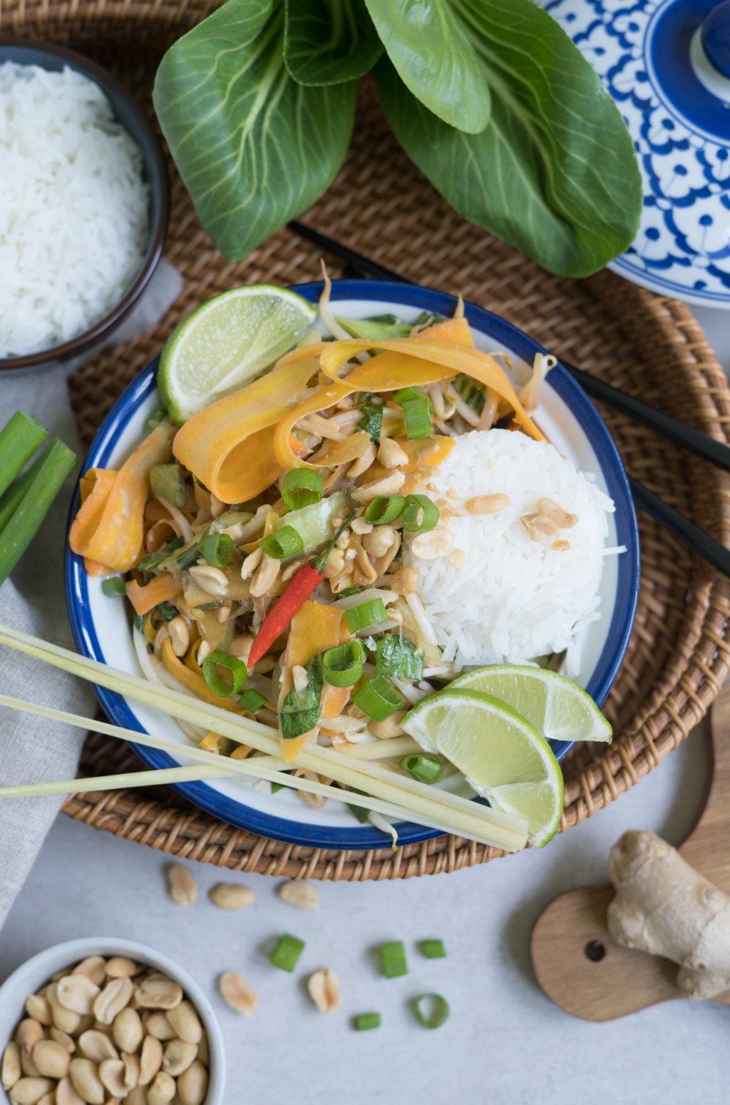 schnelles Thai-Curry, glutenfrei