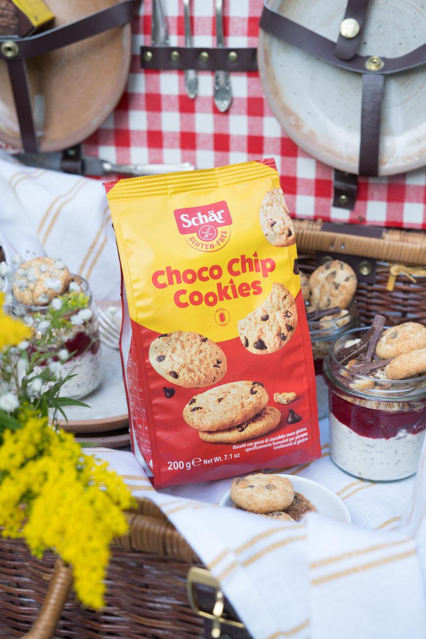 Tüte mit glutenfreien Cookies