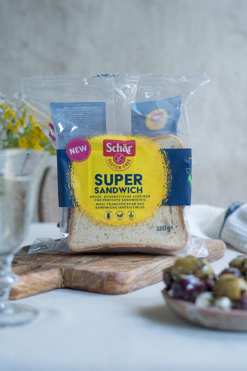 glutenfreier Super Sandwich von Schär