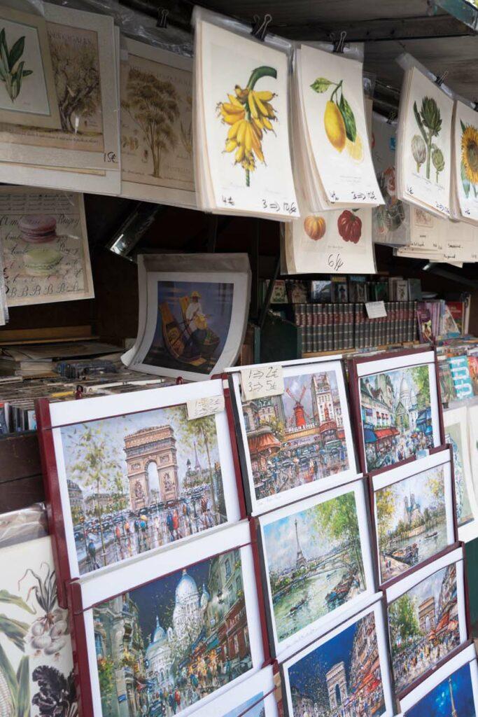 Antikladen Flohmarkt Paris, Frankreich