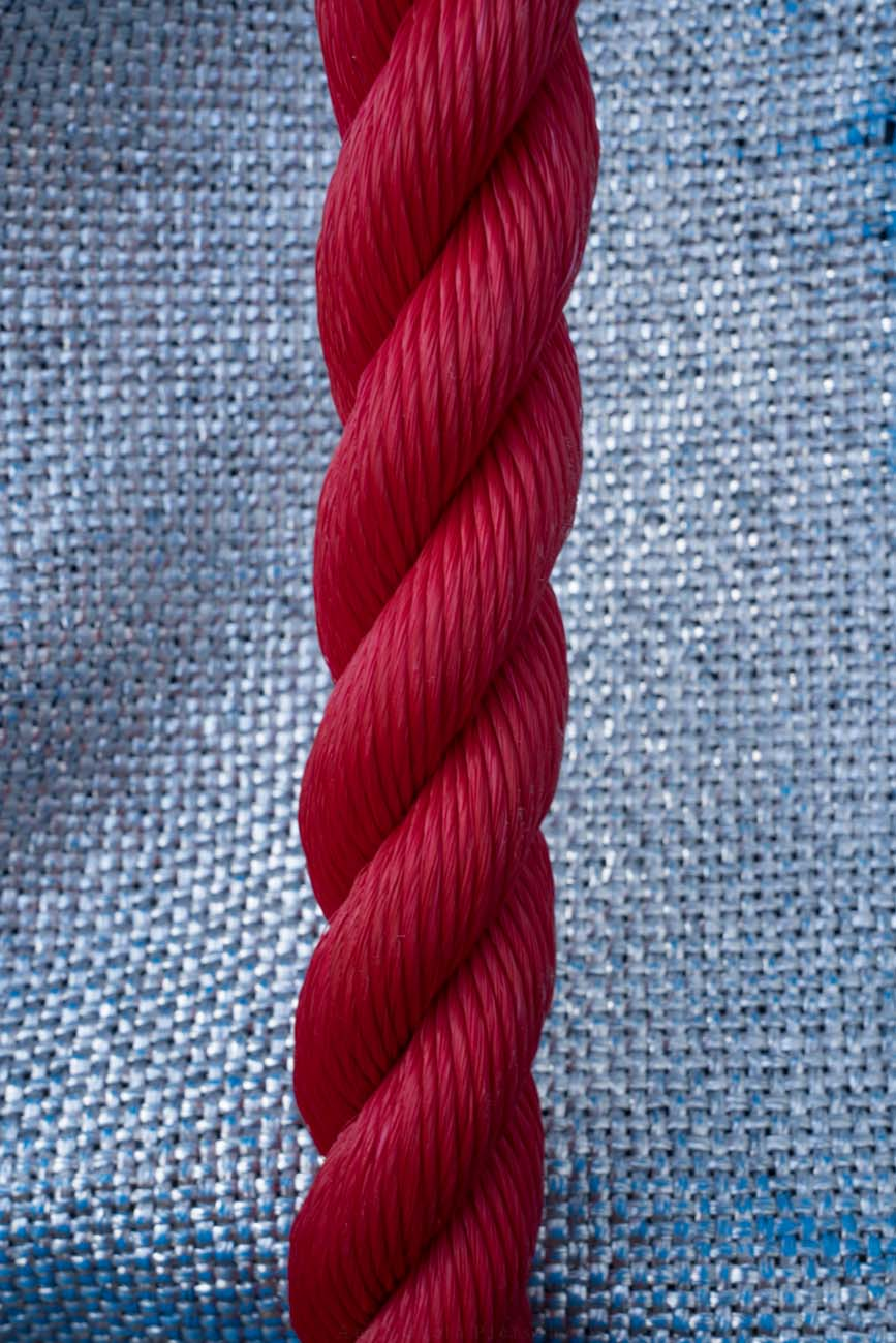 rotes Seil, Arc de Triomphe, Wrapped