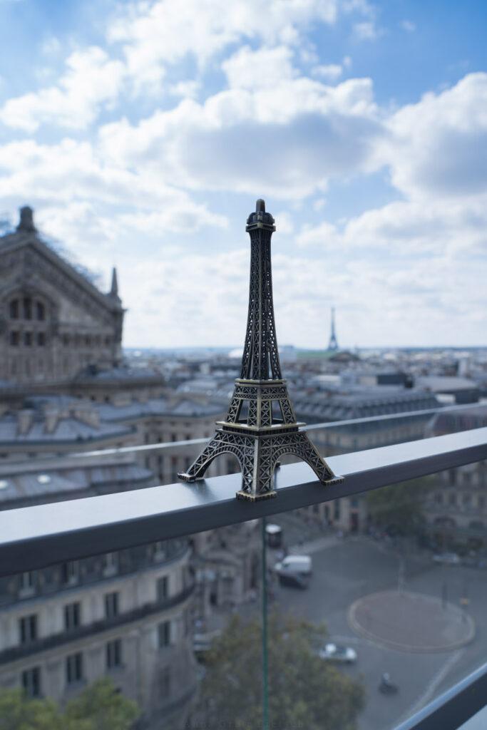Aussicht La Fayette, Paris