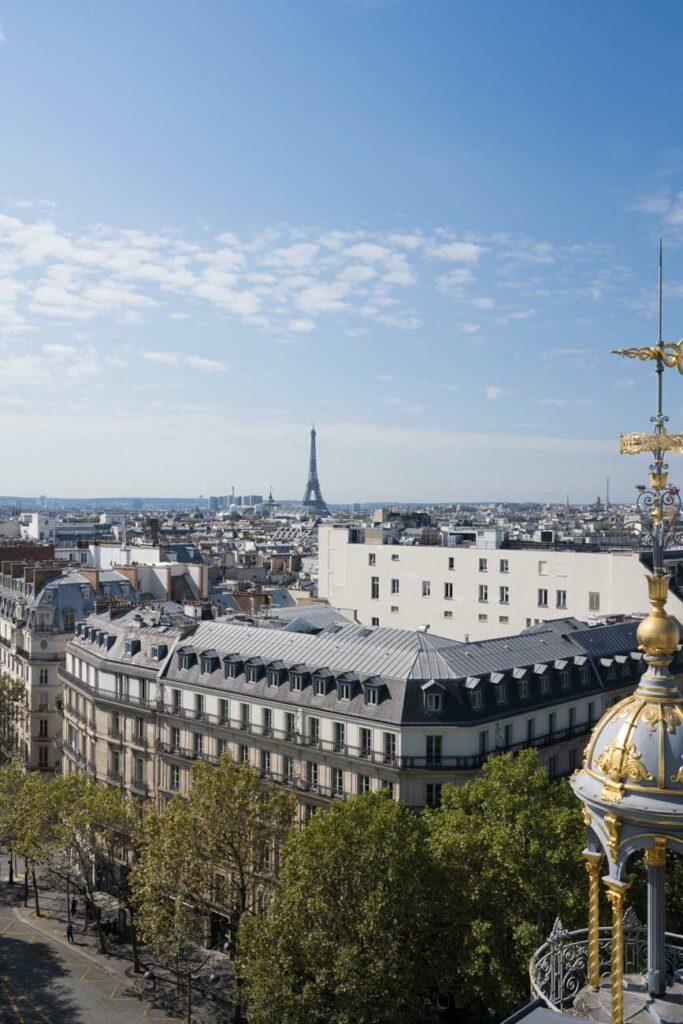 Aussicht Printemps Haussmann, Paris