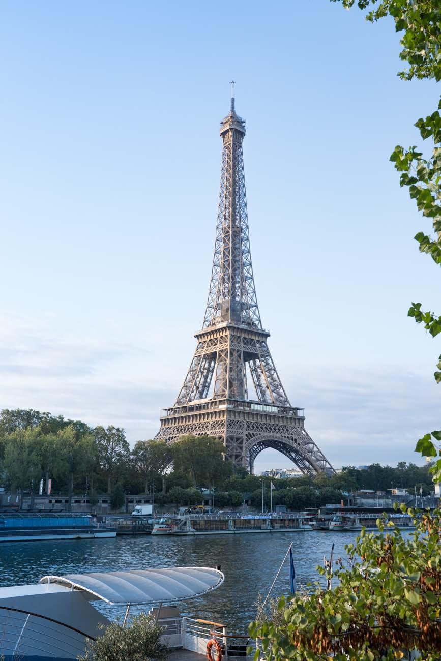 Eiffelturm am Morgen, Paris