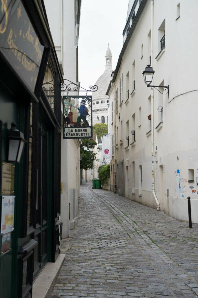Gassen in Montmartre, Paris
