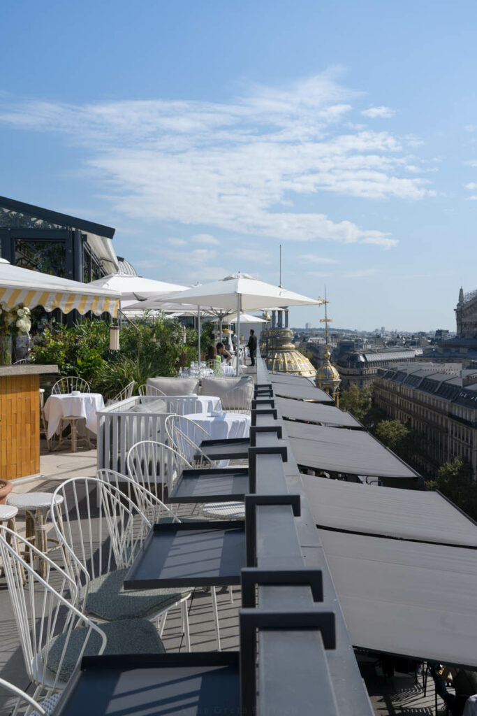Terrasse Printemps Haussmann, Paris