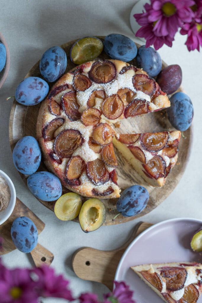 Zwetschgenkuchen Pflaumenkuchen glutenfrei