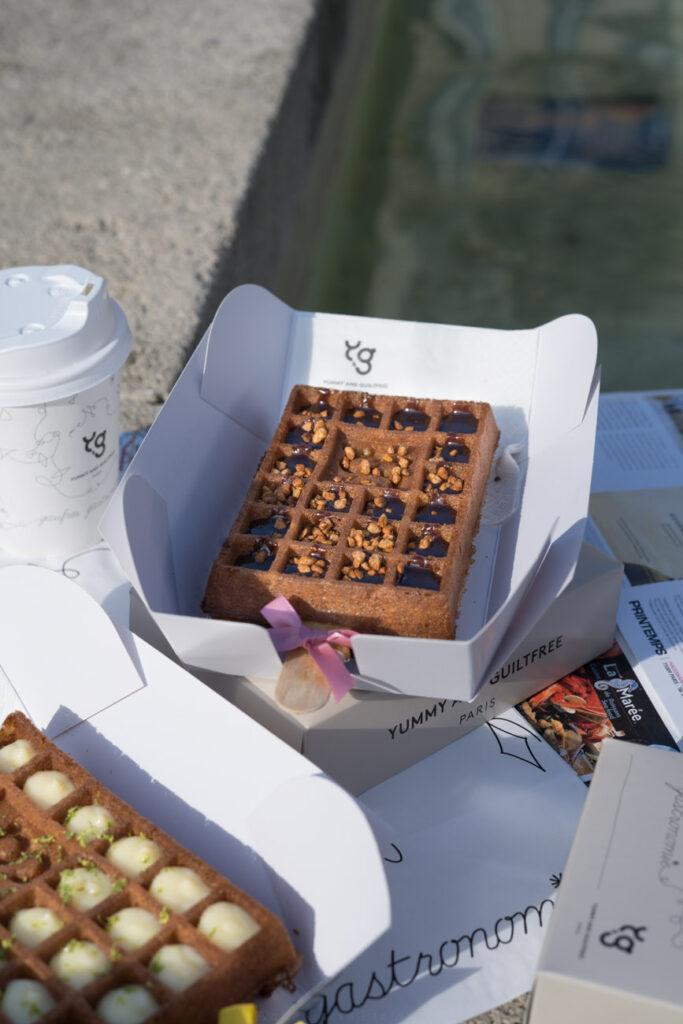 glutenfreie Waffel mit Noisette, Yummy & Guiltfree, Paris