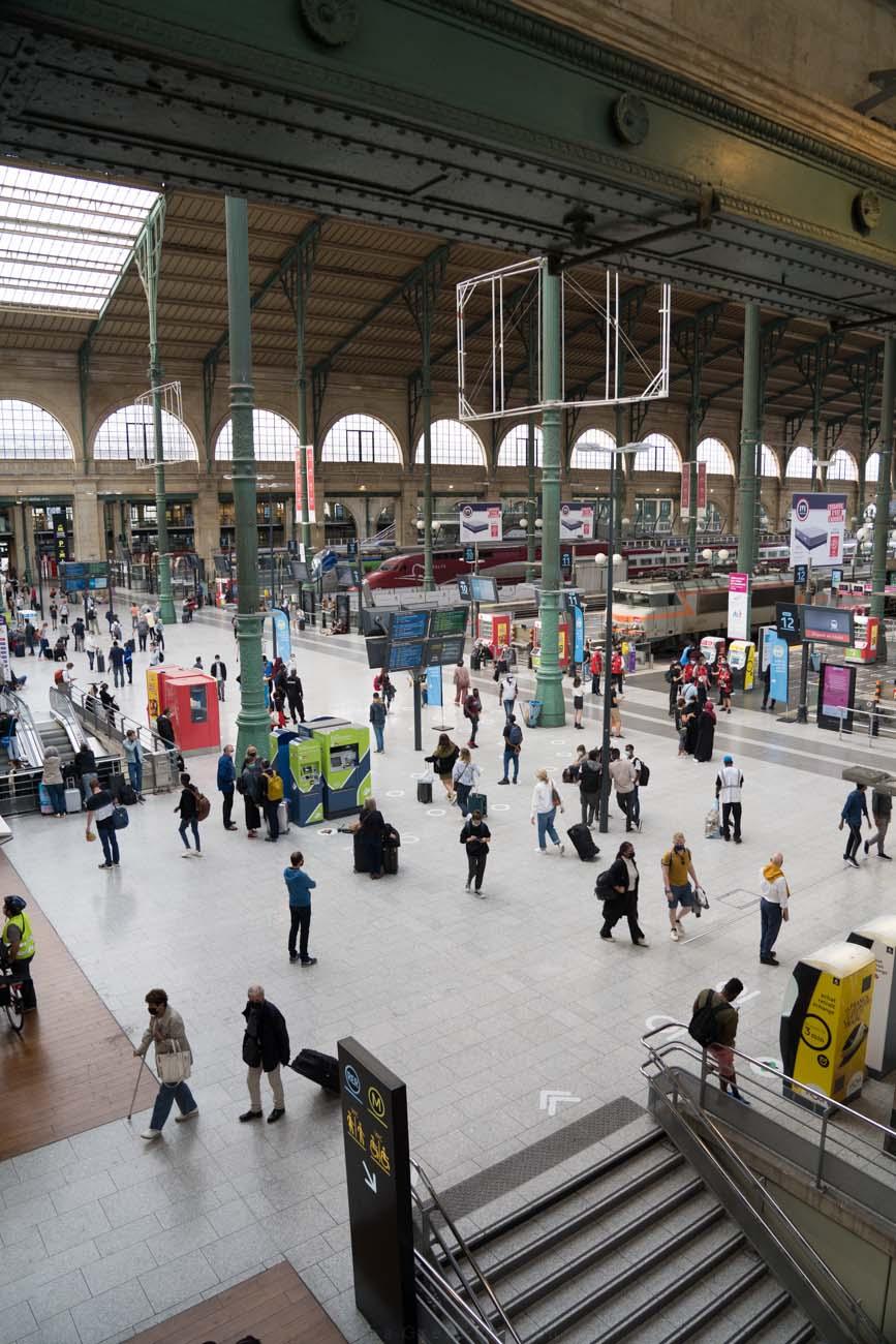 Empfangshalle Gare du Nord, Paris