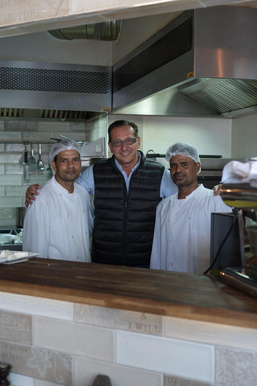 Paolo und Crew, Tasca glutenfree, Paris