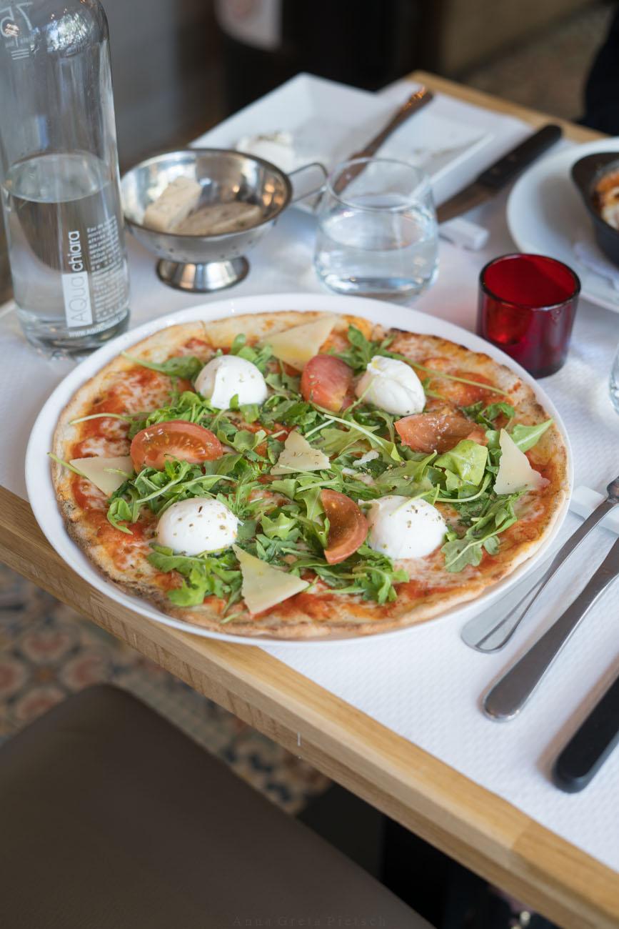 glutenfreie Pizza, Tasca, Paris