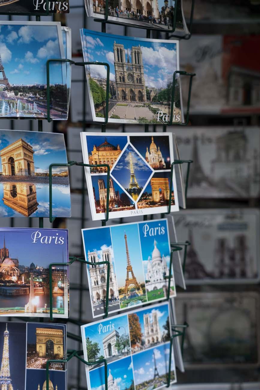 Postkarten, Paris