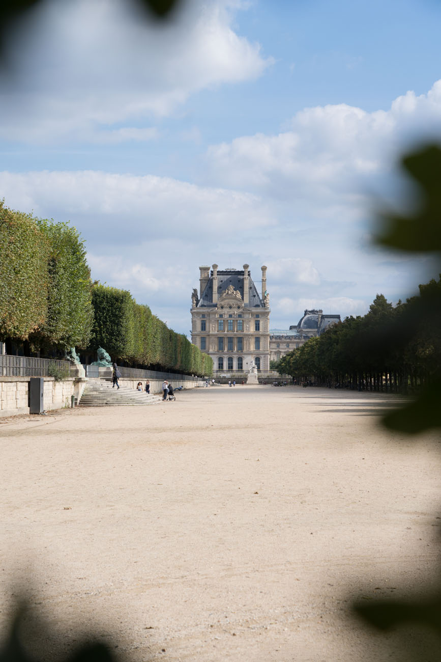 Tuileries und Louvre, Paris