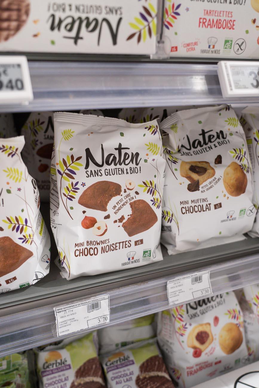 glutenfreie Cookies, Franprix Supermarkt, Paris